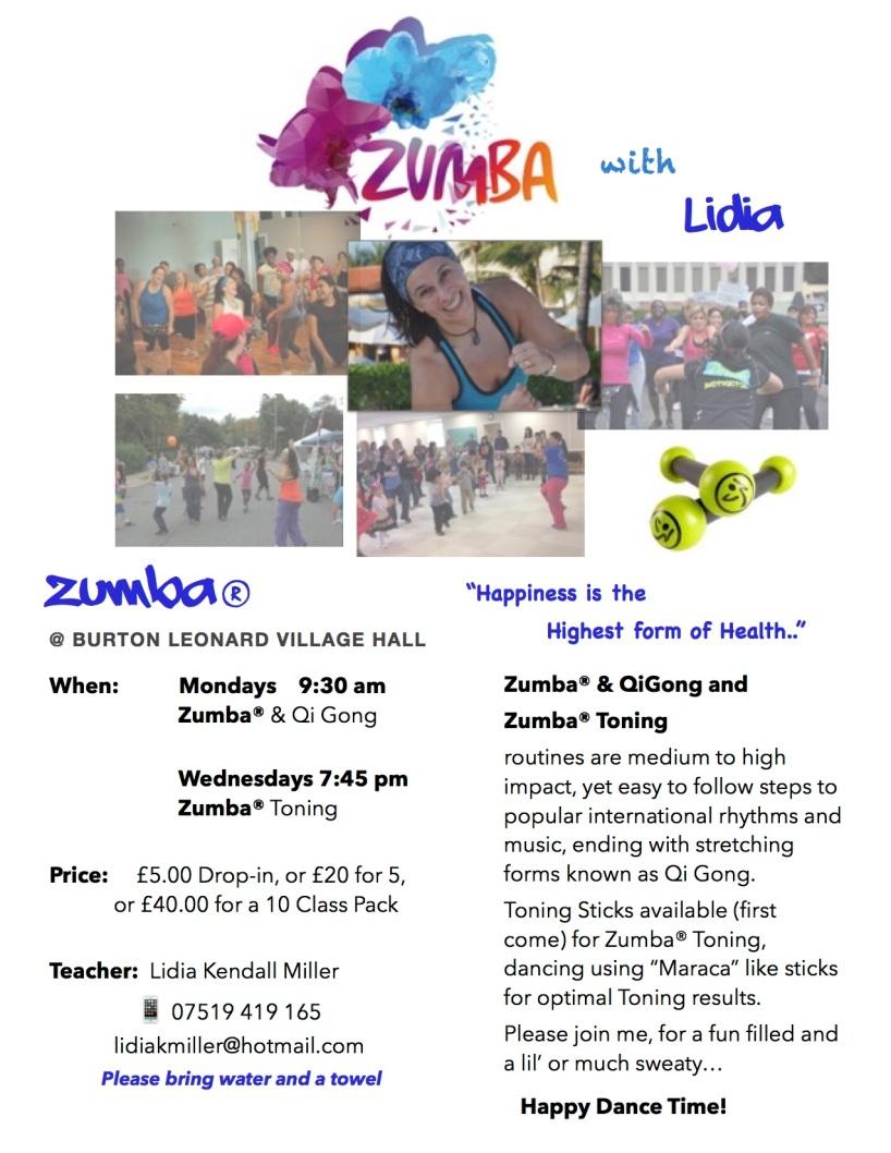 Zumba2015 flyer